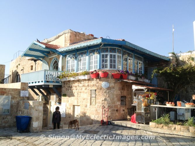 House on the Main Square in Jaffa, Israel