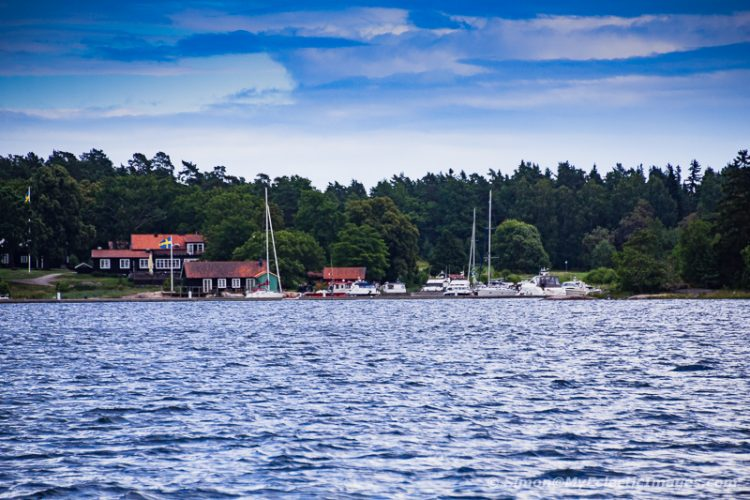 A View of Nasslingen from the Water