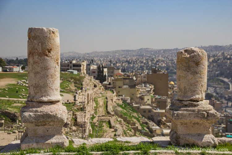 View of Part of Amman from the Citadel