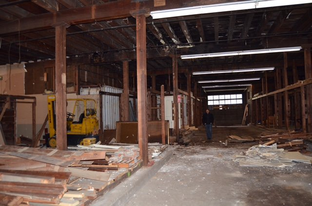 The Millworks During the Early Stages of Renovations (Photo courtesy of Joshua Kesler)