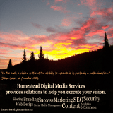 This site hosted and designed by Homestead Digital Media Services