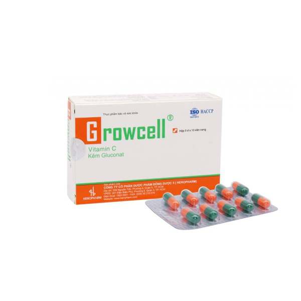 Growcell Vitamin from Vietnam
