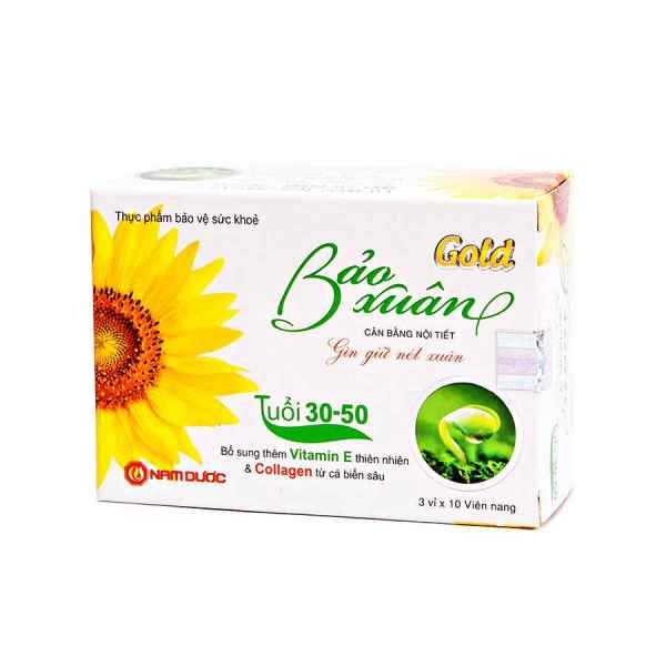 BAO XUAN GOLD from Vietnam - 30 capsules