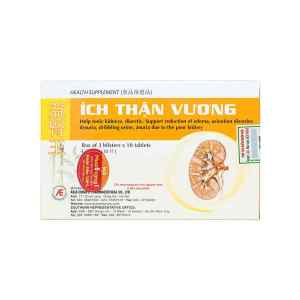 Ich Than Vuong 30 tablets, Vietnamese medicine