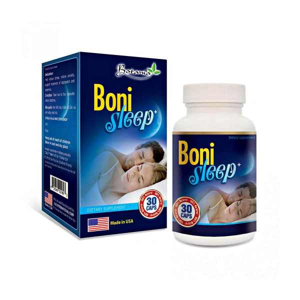Bonisleep Canada 30 capsules help sleep well