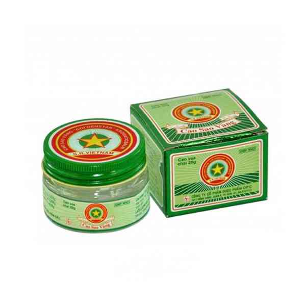 Cao Sao Vang Ointment 20g