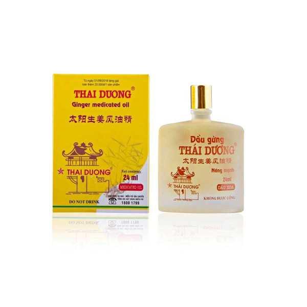 Dau Gung Thai Duong 24 ml Ginger Oil Vietnam