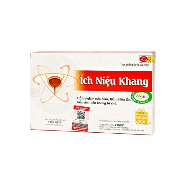 Ich Nieu Khang supplement from Vietnam