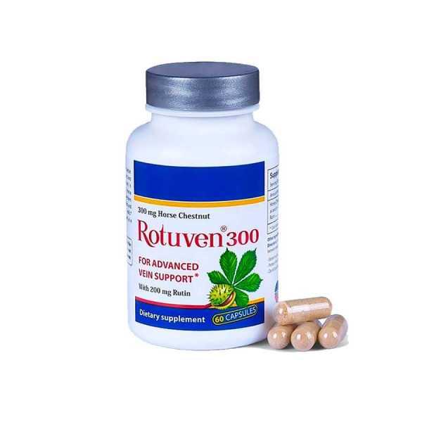 Advanced Vein Care Rotuven 300 capsules