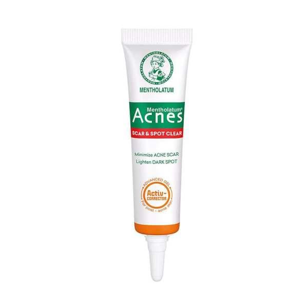 Acnes Scar and Spot Clear Gel, Mentholatum - Minimize acne scar, lighten dark spot - 10g