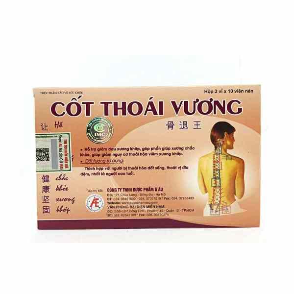 Cot Thoai Vuong capsules