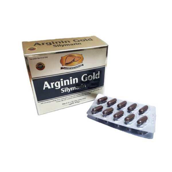 Arginin Gold Silymarin 60 capsules