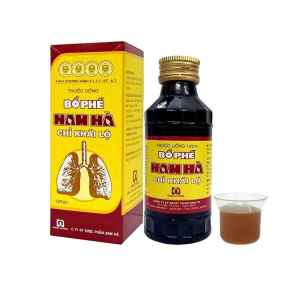 Bo Phe Nam Ha Vietnamese Herbal Cough Syrup