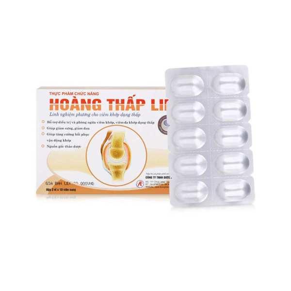 Hoang Thap Linh 30 capsules