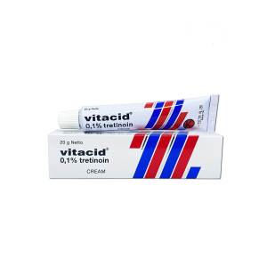 Vitacid Tretinoin 0,1 cream Tretinoin