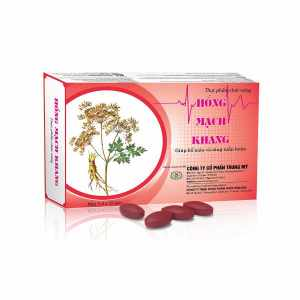 Hong Mach Khang - helps reduce symptoms of low blood pressure