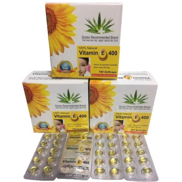 Vitamin E 400 100 capsules