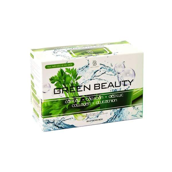 green beauty vietnam nuoc ep can tay 32 sachets
