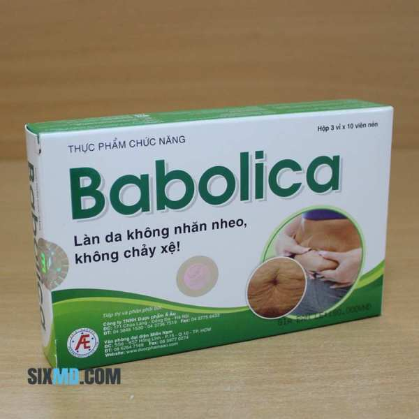 Babolica - Anti-aging tablets, Keep skin Healthy and Beautiful