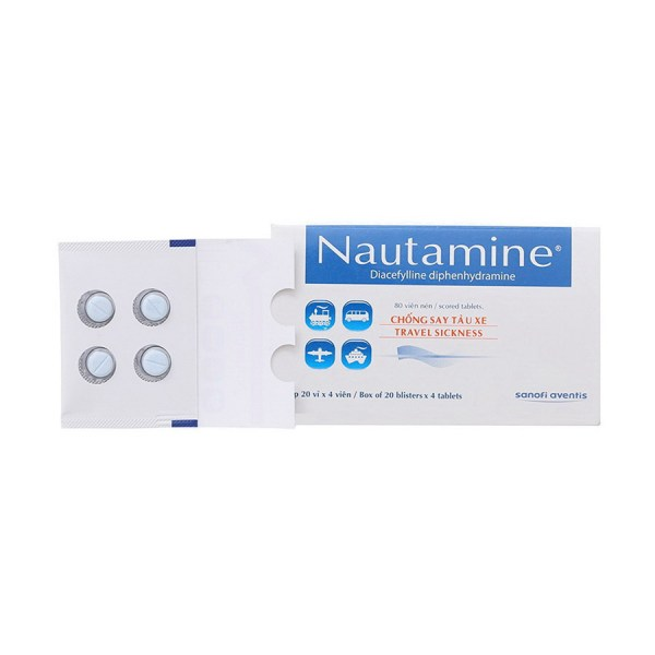 Nautamine tablets prevent and treat travel sickness