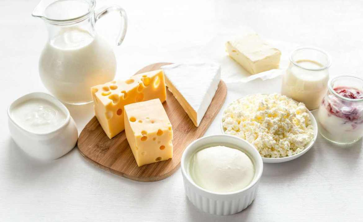 foods are made from milk may be the reason for the appearance