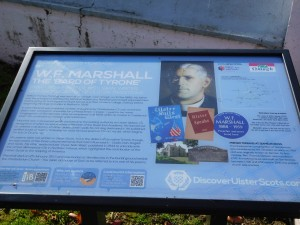F W Marshall Memorial Noticeboard
