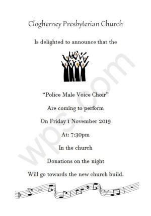 Male Voice Choir Event