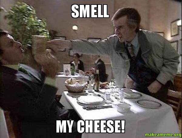 smell cheese