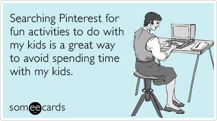 Pinterest Search card