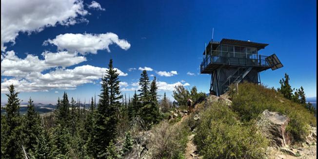 Kendrick Peak near Flagstaff