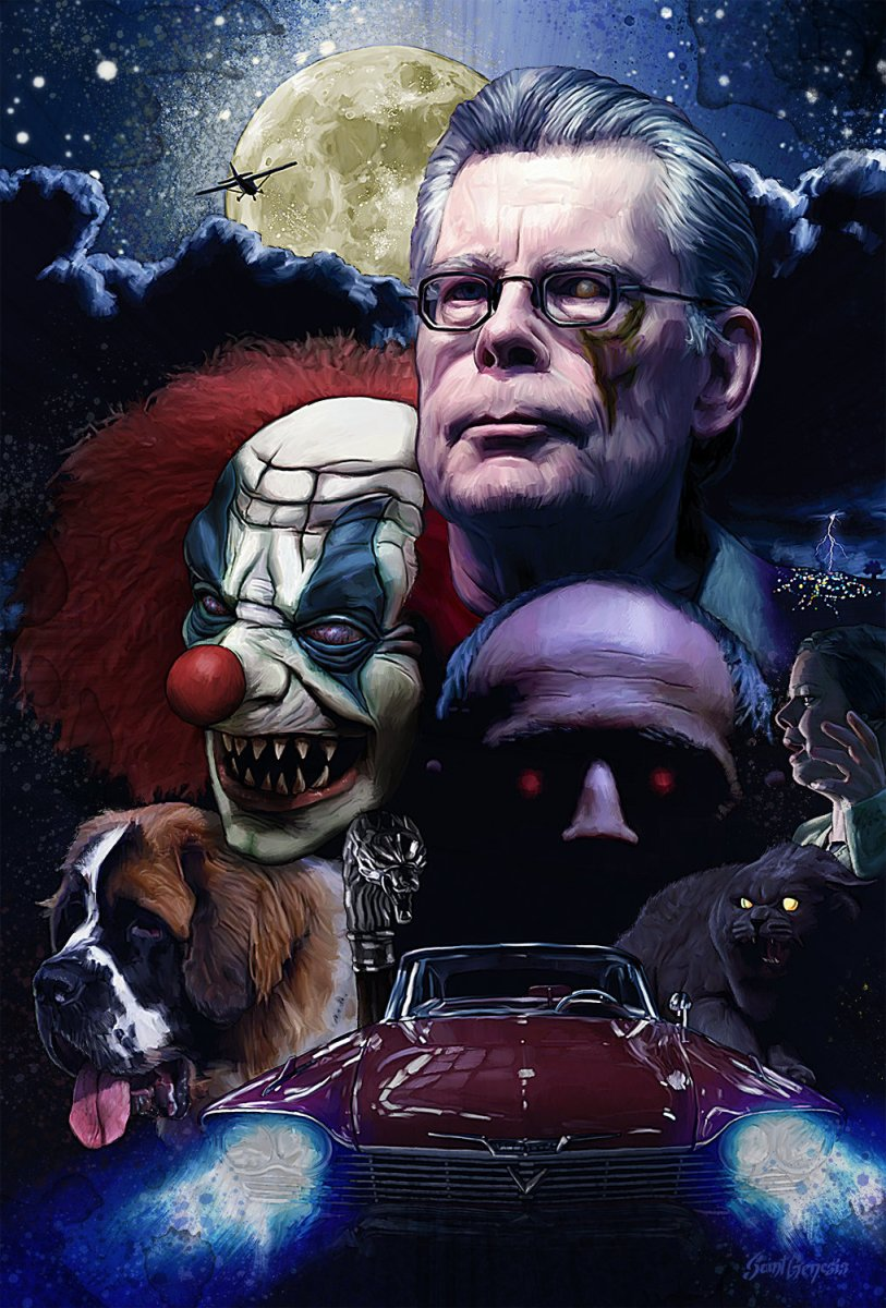 Stephen King And His Permanent Link To Your Nightmares ...