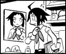 cheren manga