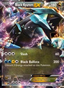 black kyurem ex plasma storm pls 95
