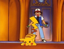 ash ketchum pikachu losing ouch