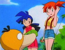 misty psyduck confused i don't know