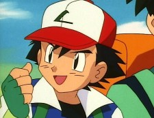 ash ketchum yeah excited