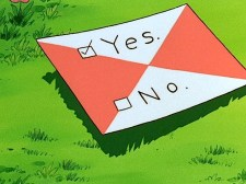 yes no letter mail