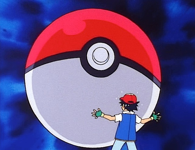 ash giant poke ball