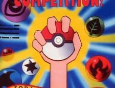 poke ball hand energy competition poster
