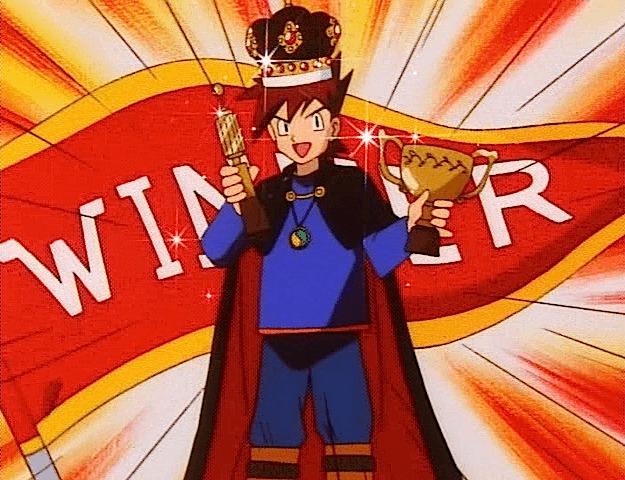 gary oak winner trophy crown