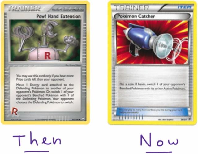 pow! hand extension vs. pokemon catcher