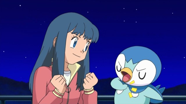 dawn piplup positive