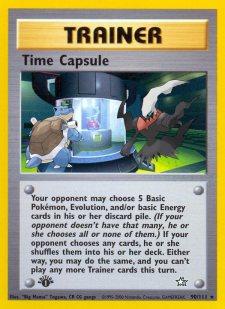 time capsule blastoise darkrai