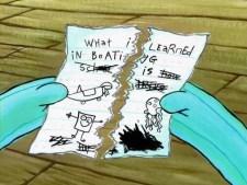 what i learned in boating school spongebob