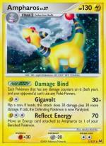 Ampharos Platinum PL 1 Pokemon Card