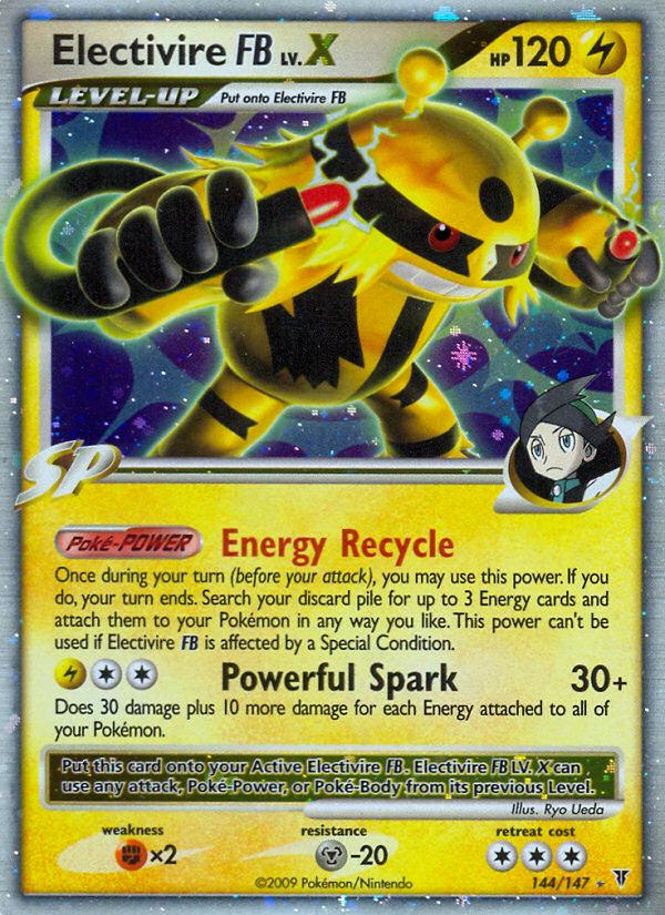 Electivire FB LV.X Supreme Victors SV 144 Pokemon Card