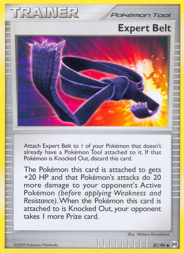 Expert Belt Arceus AR 87 Pokemon Card