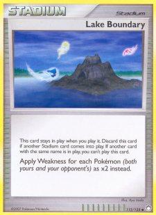 Lake Boundary Mysterious Treasures MT 112 Pokemon Card