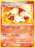 Ninetales Mysterious Treasures 32 Pokemon CardTreasures