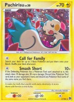 Pachirisu Great Encounters GE 5 Pokemon Card